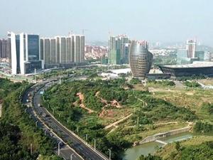 高清组图:数十年路网扩张 见证柳州沧桑巨变