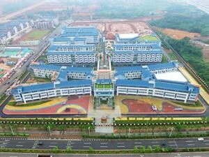 8月29日焦点图:新学期,南宁新增21所中小学
