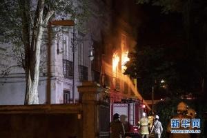 巴西国博发生大火 所有藏品恐被烧毁