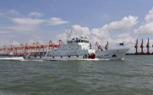 高清:广西海事局开展2018年第二次北部湾联合巡航