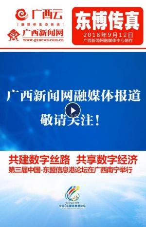 快闪:第三届中国-东盟信息港论坛在南宁举行