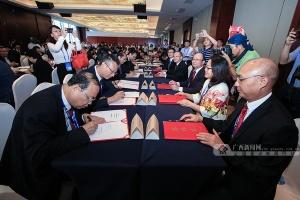 广西数字经济招商引资合作项目集中签约仪式举行