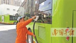 南宁埌东公交场站外15个充电桩将开放使用(图)