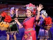 """罗城:仫佬族群众载歌载舞欢庆""""中国农民丰收节"""""""