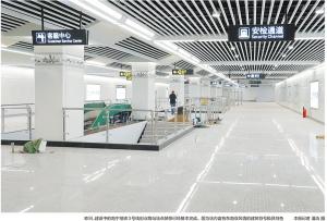 南宁地铁3号线进入装修阶段 融合广西及东盟特色