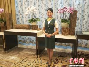 """大陆的台湾空姐:大陆带给了我一片全新的""""蓝天"""""""