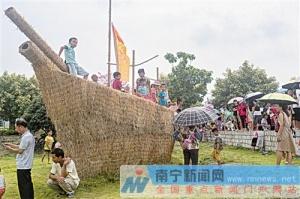 南宁:农趣活动丰富 稻花香里说丰年引起赞声一片