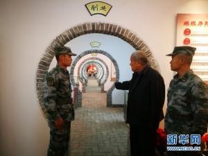 泪目!离开连队50年,这位八旬老兵中秋节回来了