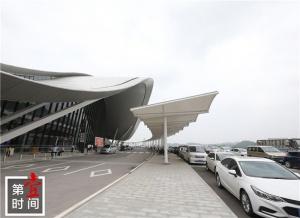 演练完成 桂林两江国际机场T2航站楼启用倒计时