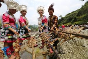 广西特色旅游名县融水:苗山深处的丰收节(组图)