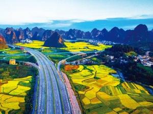 高清:盘点广西这些高颜值高速公路 沿线风景美爆