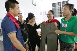 柳城村企联姻助力脱贫 自办企业带动就业(组图)