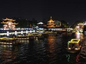 江苏南京:夜游夫子庙