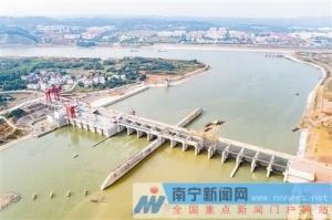 邕宁水利枢纽下闸蓄水 邕江水面将加宽约40米