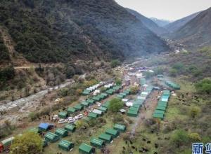 西藏江达县山体滑坡安置点见闻