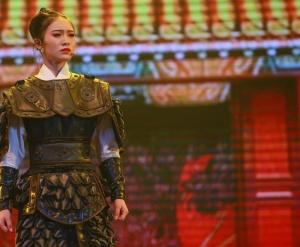 展现古镇魅力 古装歌舞剧《临贺长歌》受关注(图)