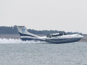 """国产大型水陆两栖飞机""""鲲龙""""AG600"""