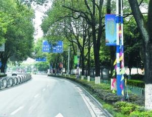 桂林街头大变样 主要节点装扮一新迎接