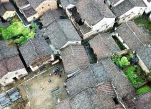 潇贺古道旁的古建筑群