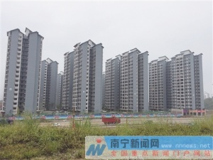 隆安县震东集中安置区建成 月底完成全部搬迁入住
