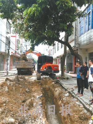北海:2018年海城区改造15条小街小巷