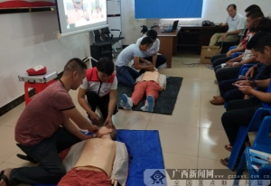 防城港市港口区:50名侨胞学习海上应急救护
