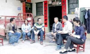 广西科技厅开展扶贫日结对帮扶活动