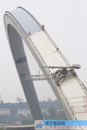 南宁4座桥梁喷涂工程三期项目计划11月30日前完工