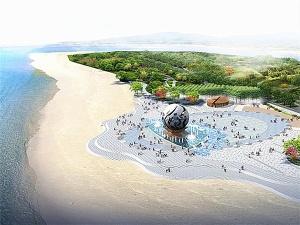 """27日焦点图:银滩""""潮""""雕塑将大修 预计耗资6千万元"""