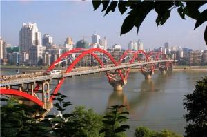 广西路建集团承建柳州市文惠大桥