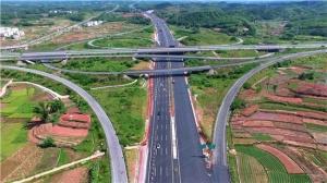 广西路建集团参建广西沿海高速公路改扩建工程