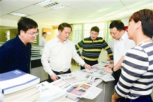 全桂寿到梧州新闻媒体单位调研看望慰问新闻工作者