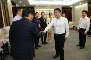 李新元会见广东新粤商投资商会代表