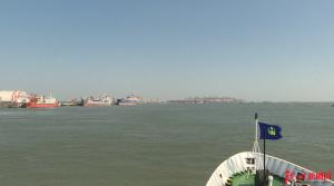 钦州各部门联合海上救援演习 实战溢油应急处置