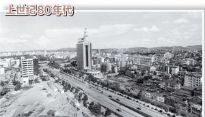 南宁市民族大道:数十年的华丽变迁尽收眼底(图)