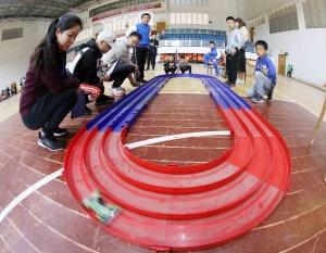广西青少年车航模选拔赛举行 350名选手展开角逐