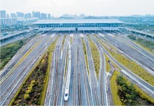 """高清:南宁跑出交通建设""""加速度"""" 多个项目传捷报"""