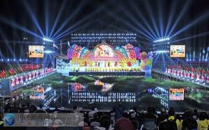 百色市第五届运动会在靖西开幕