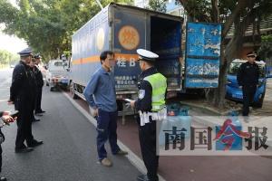 柳州一水站无证卖燃气多次被查 连车带货都被暂扣