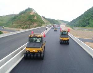 11月14日焦点图:河百高速公路主体工程已完成