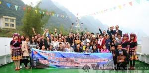 大化红水河游船与马山景区联姻共谋发展