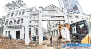 """高清:南宁""""三街两巷""""新颜初现 再塑繁华圩市景观"""