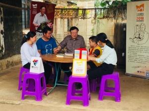 """著名作家与涠洲岛学生""""分享""""阅读"""