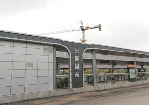 南宁BRT2号线开始运行测试 园博园运营前免费载客