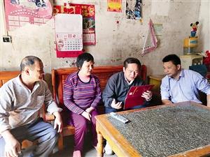 全桂寿赴三县一市及长洲区专题调研脱贫攻坚工作