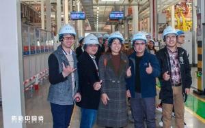 质信中国造  广西媒体及车主代表走进吉利春晓制造基地