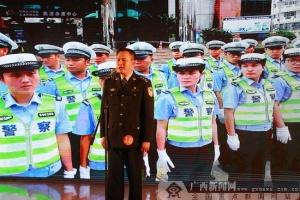 广西交警:讲述身边的交警故事 弘扬队伍正能量