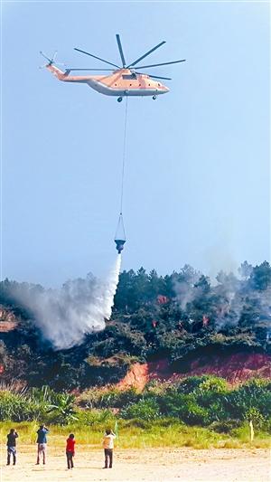 梧州市森林防火队伍集中开展竞赛演练