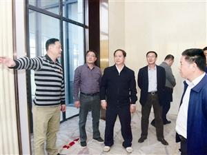全桂寿李杰云率队检查西江机场建设后续工作