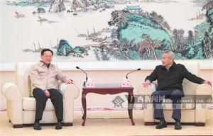 全国政协副主席邵鸿来桂调研